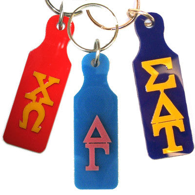 Sorority Mirror Paddle Keychain - Craftique cqMPK