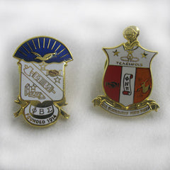 Greek Crest Pins