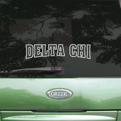 Delta Chi Stadium Sticker - Angelius Pacific apsc
