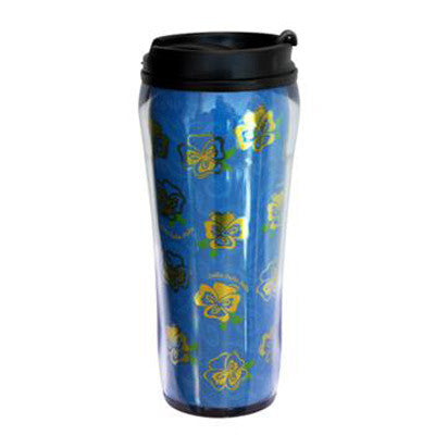 Delta Delta Delta Metallic Travel Mug - Alexandra Co. a1061