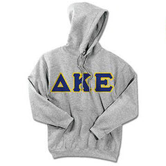 Delta Kappa Epsilon Standards Hooded Sweatshirt - $25.99 Gildan 18500 - TWILL