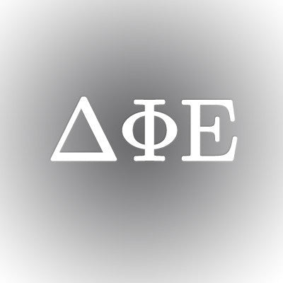 Delta Phi Epsilon Car Window Sticker - compucal - CAD