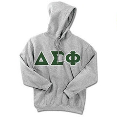 Delta Sigma Phi Standards Hooded Sweatshirt - $25.99 Gildan 18500 - TWILL