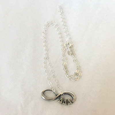 Sorority Infinity Sterling Charm- cid675