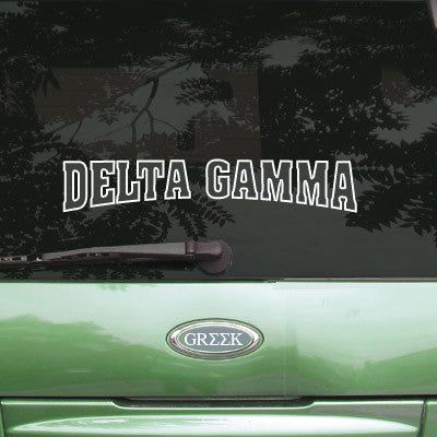 Delta Gamma Stadium Sticker - Angelius Pacific apsc - CAD