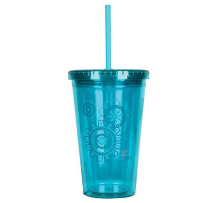 Delta Gamma On-The-Go Tumbler - SALE - Alexandra Co. a1052