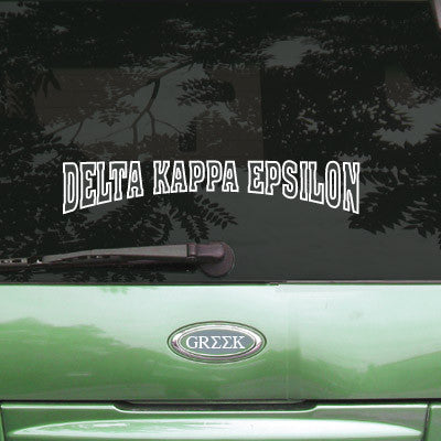 Delta Kappa Epsilon Stadium Sticker - Angelius Pacific apsc
