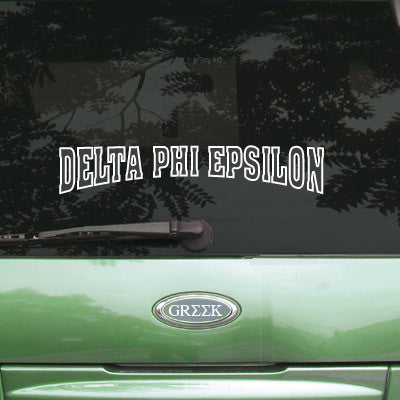 Delta Phi Epsilon Stadium Sticker - Angelius Pacific apsc