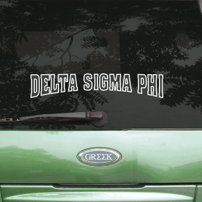 Delta Sigma Phi Stadium Sticker - Angelius Pacific apsc