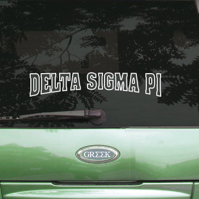 Delta Sigma Pi Stadium Sticker - Angelius Pacific apsc - CAD