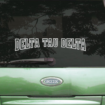 Delta Tau Delta Stadium Sticker - Angelius Pacific apsc