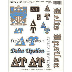 Delta Upsilon Multi-Cal Stickers