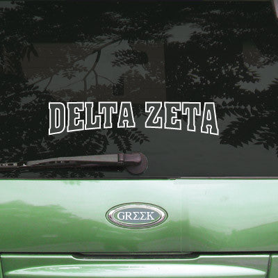 Delta Zeta Stadium Sticker - Angelius Pacific apsc - CAD