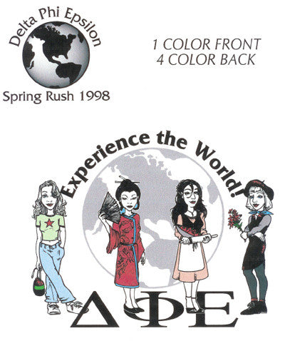 Experience the World shirt