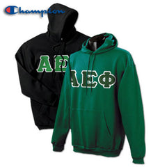 Alpha Epsilon Phi 2 Champion Hoodies Pack - Champion S700 - TWILL