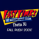 Fast Times T Shirt Design