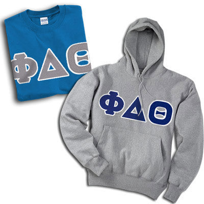 Fraternity Hoody and T-Shirt Twill Package Deal - TWILL