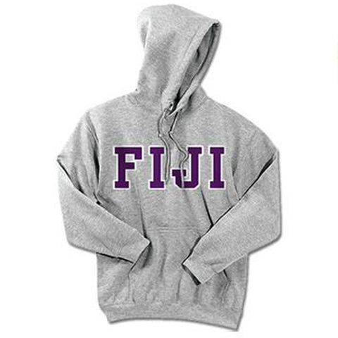 FIJI Standards Hooded Sweatshirt - $25.99 Gildan 18500 - TWILL