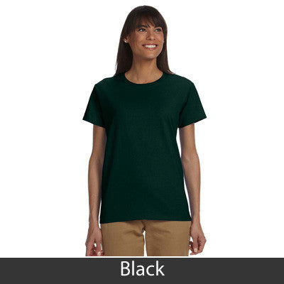 Gamma Phi Beta Ladies T-Shirt - Gildan 2000L - TWILL