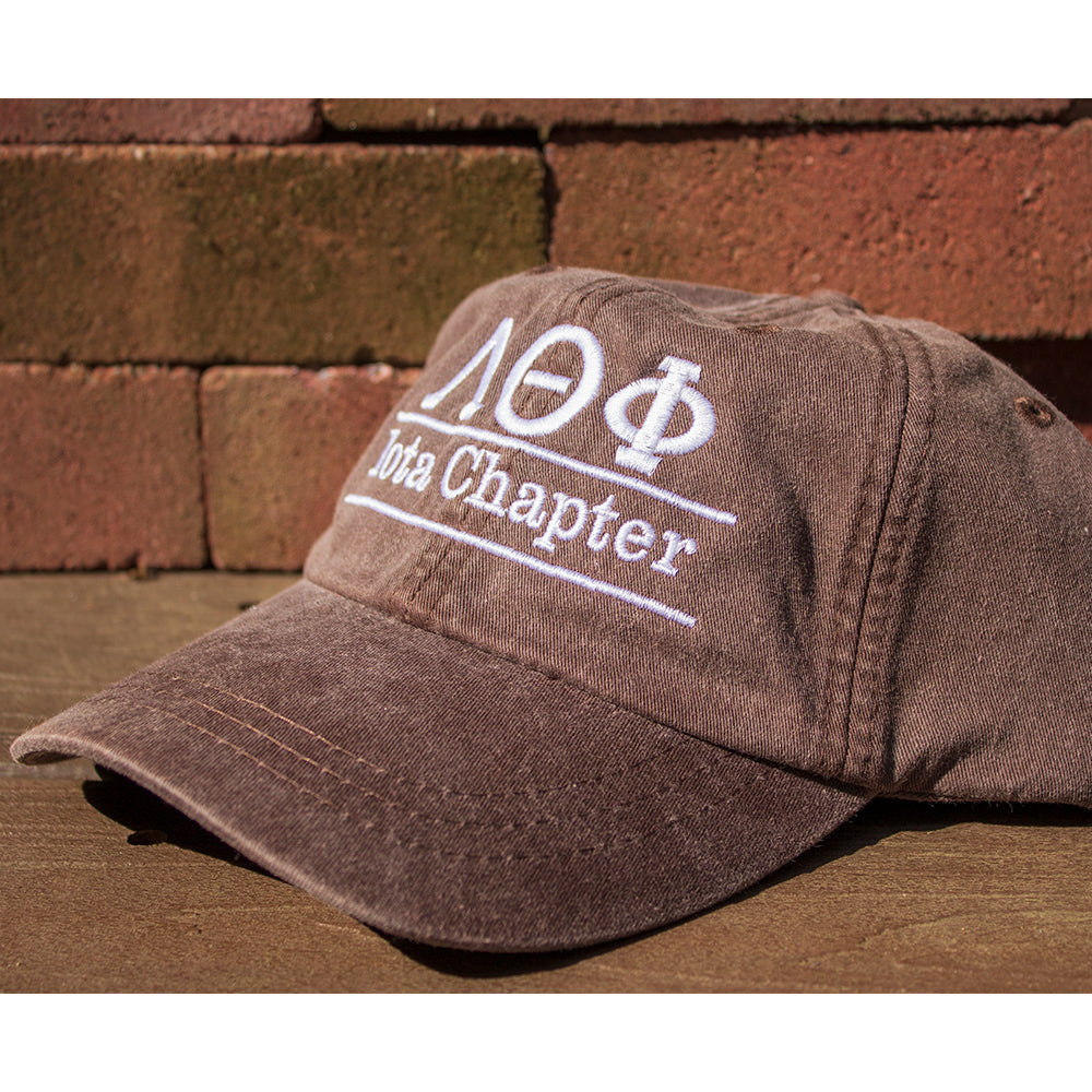 c3c8a5fc5fb0f ... Fraternity Pigment-Dyed Embroidered Bar Design Hat - Adams AD969 - EMB  ...
