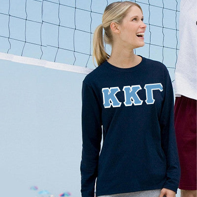 $20 Custom Printed Sorority Long-Sleeve T-Shirt - Gildan 2400 - DIG