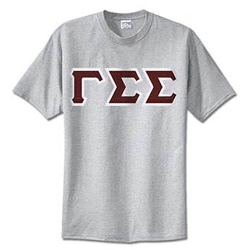 Gamma Sigma Sigma Standards T-Shirt - $14.99 Gildan 5000 - TWILL