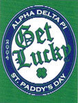 Get Lucky T Shirt Design