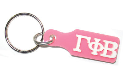 Gamma Phi Beta Paddle Keychain - Craftique cqSPK