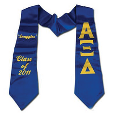 Greek 24-Hour Custom Printed Stole - CAD