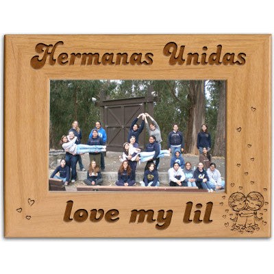 Hermanas Unidas Love My Lil Picture Frame - PTF146 - LZR