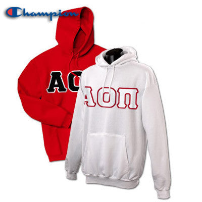Alpha Omicron Pi 2 Champion Hoodies Pack - Champion S700 - TWILL