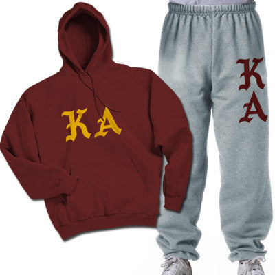 Kappa Alpha Printed Old English Package - CAD