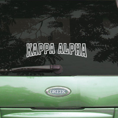 Kappa Alpha Stadium Sticker - Angelius Pacific apsc - CAD