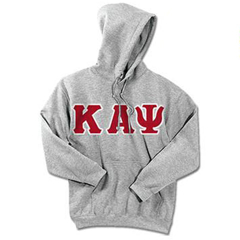 Kappa Alpha Psi Standards Hooded Sweatshirt - $25.99 Gildan 18500 - TWILL