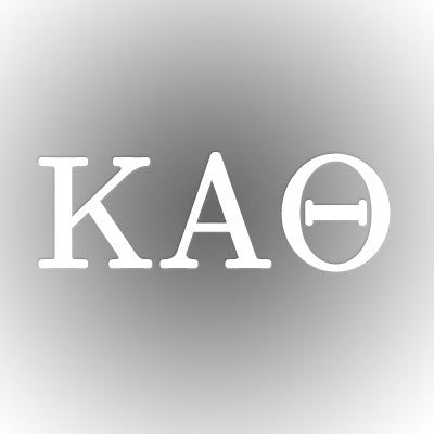 Kappa Alpha Theta Car Window Sticker - compucal - CAD