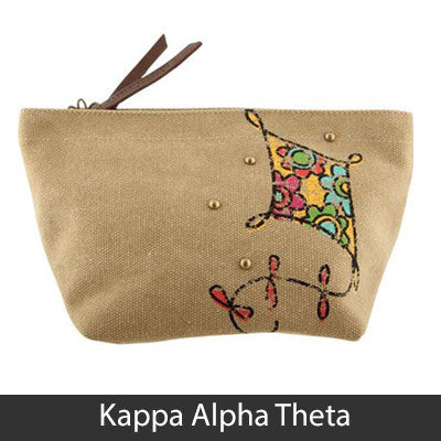 Sorority Cosmetic Bag - Alexandra Co. a1076
