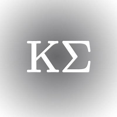 Kappa Sigma Car Window Sticker - compucal - CAD