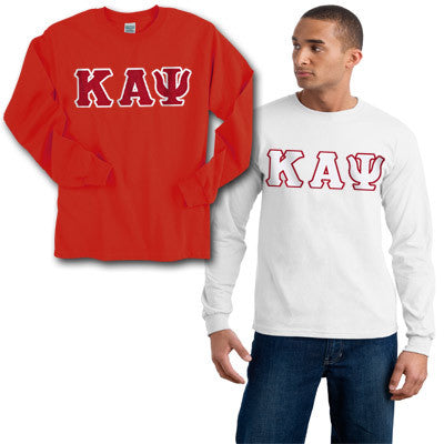 Kappa Alpha Psi 2 Longsleeve Tees Package - Gildan 2400 - TWILL