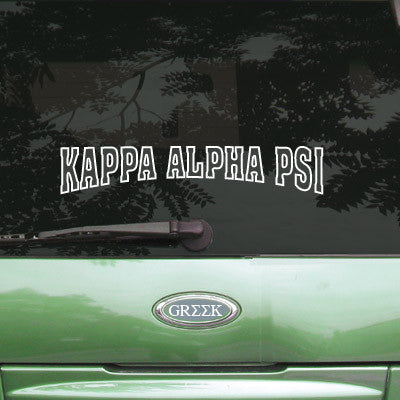 Kappa Alpha Psi Stadium Sticker - Angelius Pacific apsc