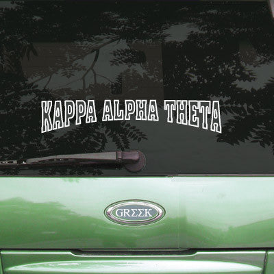 Kappa Alpha Theta Stadium Sticker - Angelius Pacific apsc - CAD
