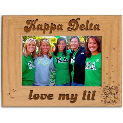 Kappa Delta Love My Lil Picture Frame - PTF146 - LZR