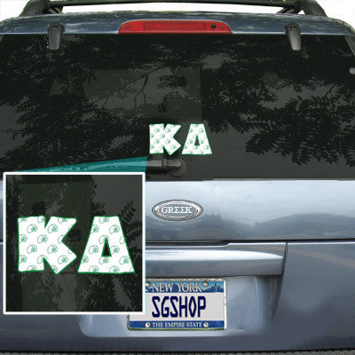 Kappa Delta Mascot Car Sticker