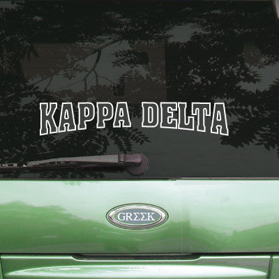 Kappa Delta Stadium Sticker - Angelius Pacific apsc
