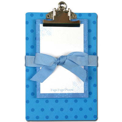 Kappa Kappa Gamma Sorority Clipboard - Alexandra Co. a1035
