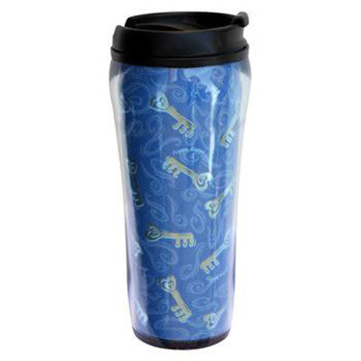 Kappa Kappa Gamma Metallic Travel Mug - Alexandra Co. a1061