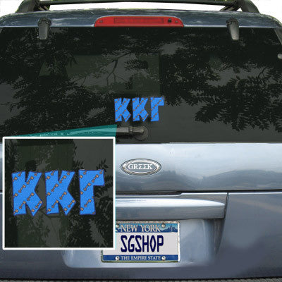 Kappa Kappa Gamma Mascot Car Sticker