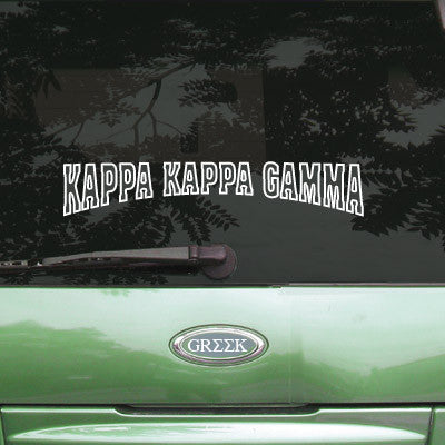 Kappa Kappa Gamma Stadium Sticker - Angelius Pacific apsc