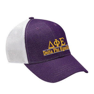 Sorority Knockout Cap with Bar Design - Adams KN102 - EMB