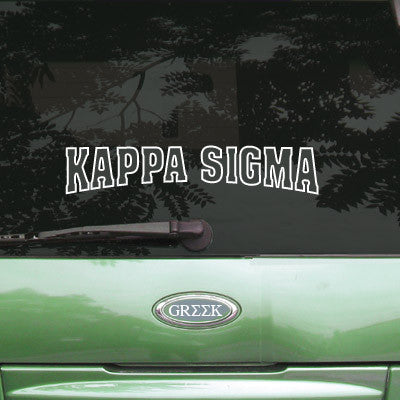 Kappa Sigma Stadium Sticker - Angelius Pacific apsc