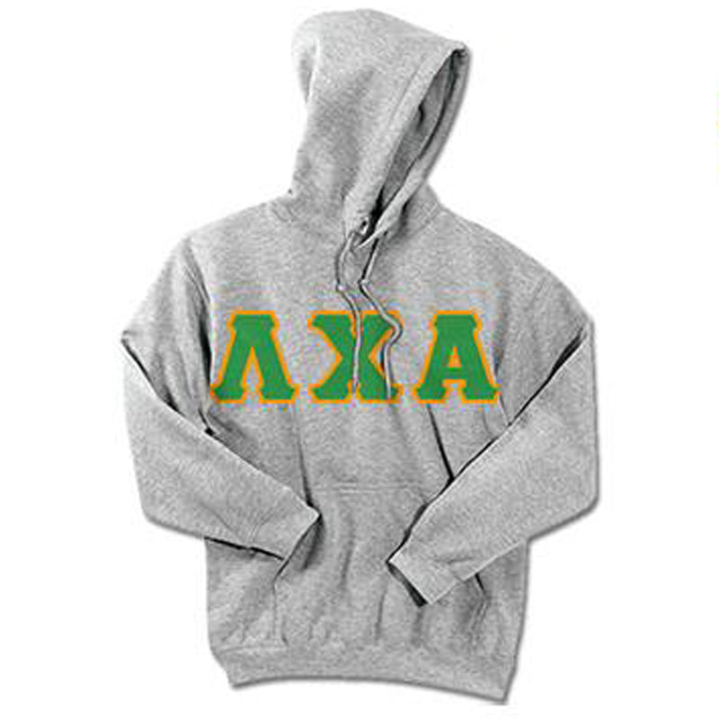 Lambda Chi Alpha Standards Hooded Sweatshirt - $25.99 Gildan 18500 - TWILL